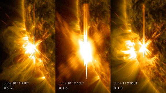 Solar Flares and Freedom