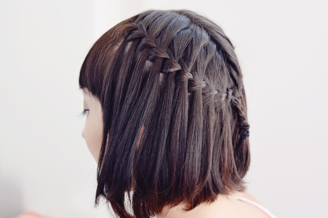 Waterfall Braids The Perfect Summer Hairstyle? Gala Darling