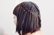 waterfall braids perfect summer