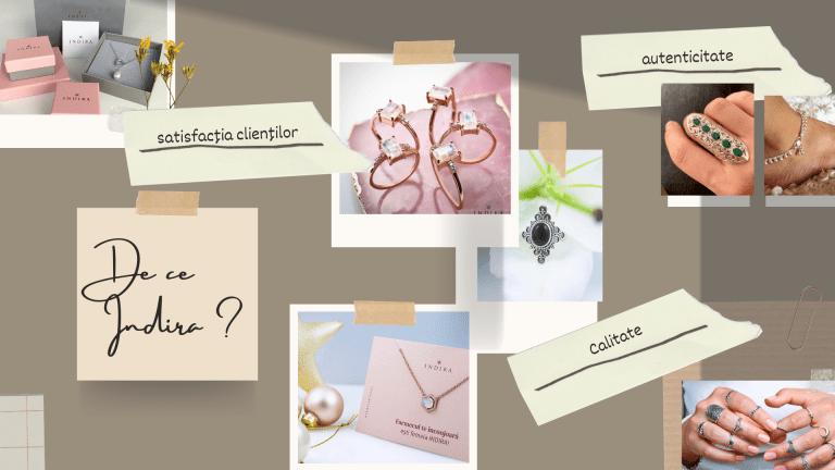 Valorile brandului de bijuterii Indira