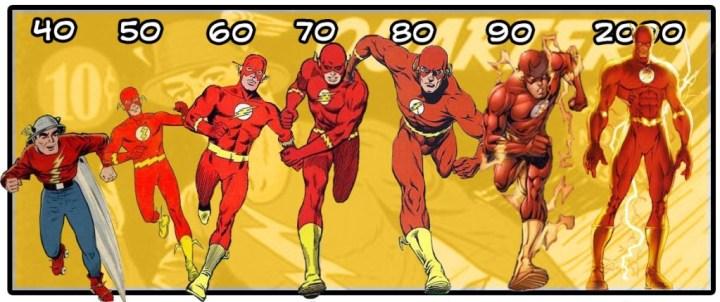 flash through the years