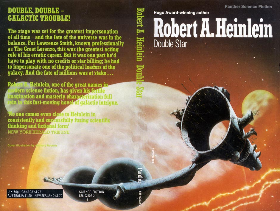 heinlein double star cover