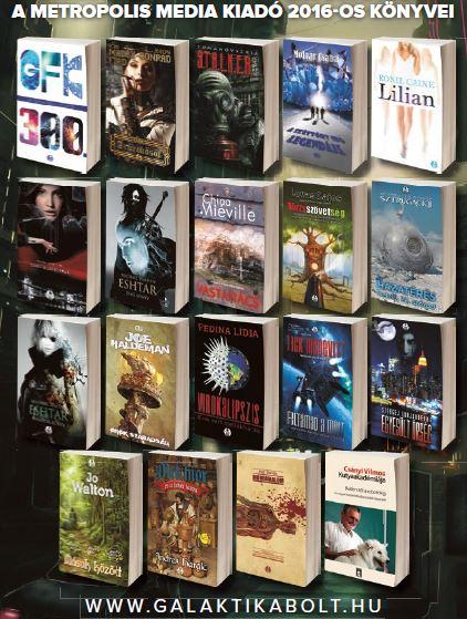 2016-os könyveink