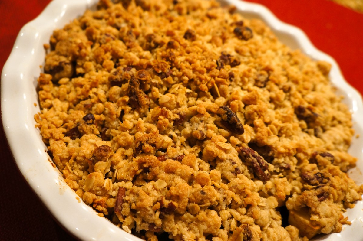 Pear, Apple and Cranberry Crisp