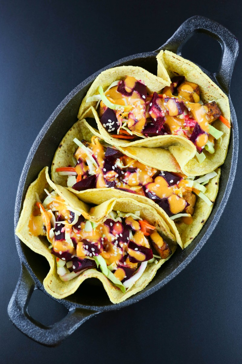 Korean Street Tacos with Seattle Pickle Co. Beets