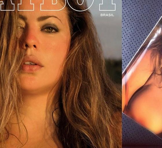 modelka plus size na okładce Playboya