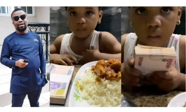 Nigerian Actor Disowns Daughter After She Picked N50K Over A Plate Of Rice  ...[VIDEO]   GalantNaija