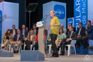 Cristina Cifuentes, delegada del Gobierno y candidata a la Comunidad de Madrid (Foto: juanangelTC.com)