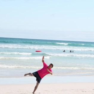 Frisbee Akrobatik