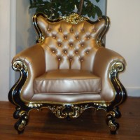 Tufted Baroque Chair - Gala Rentals