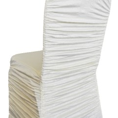 Ivory Chair Covers Spandex Best Folding With Canopy Embossed Vintage Rouge Cover Gala Rentals