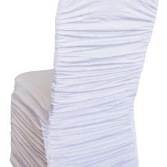 Chair Covers Vintage Glass Table And Chairs Embossed Rouge Spandex Cover White Gala Rentals