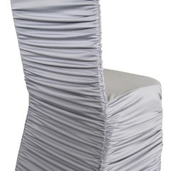 Ruched Spandex Chair Cover Lifetime Adirondack Replacement Parts Products Archive Page 27 Of 362 Gala Rentals Rouge Silver