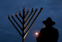 menorah lighting | Decoratingspecial.com