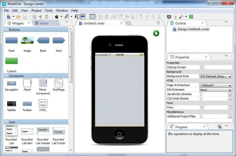 Emulateurs iOS - Mobione Studio