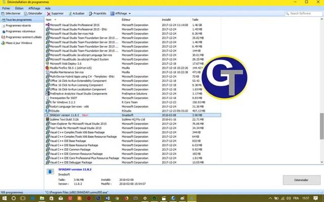 Désinstaller Complétement un Programme Windows