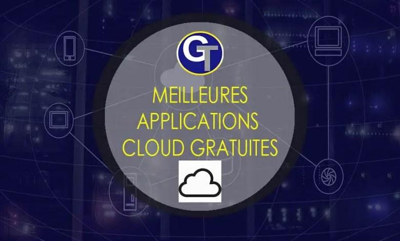 Meilleures Applications Cloud 2019 & Service Cloud Gratuit
