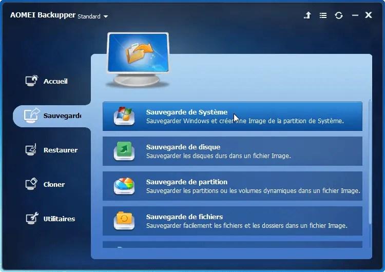 Comment Sauvegarder Windows 10 Sur Un Disque Externe - Avis Sur AOMEI Backupper