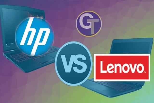 HP vs Lenovo : Quel Ordinateur Portable Choisir En 2019 Entre Lenovo et HP ?