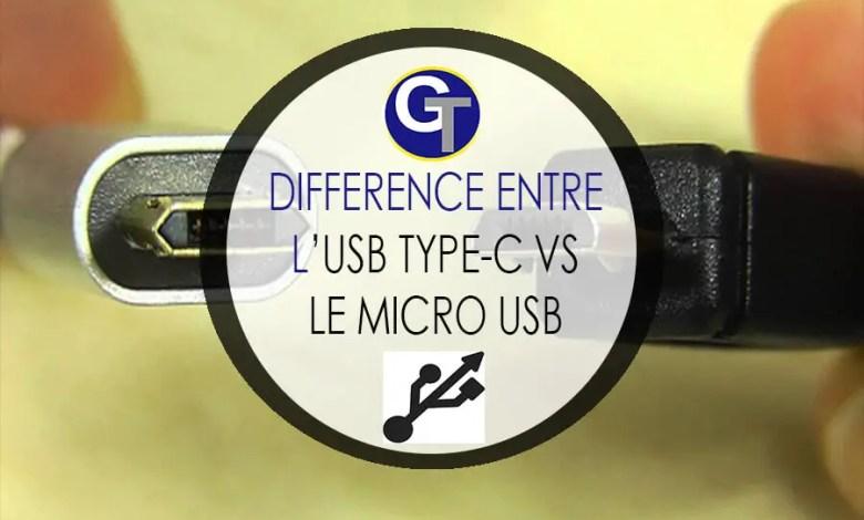 Micro USB vs USB Type C : Différence Entre Le USB Type-C et Micro USB