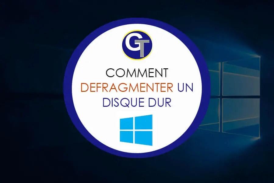 Defrag Windows 10 - Comment Défragmenter Un Disque Dur Sous Windows 10 ?