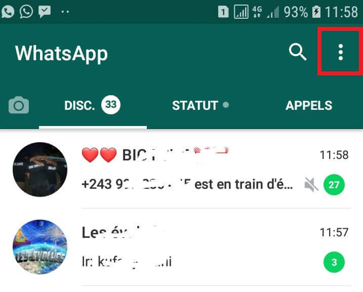 Ouvrir GBWhatsApp 8.0