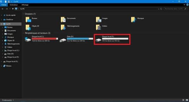 Comment partitionner un disque dur interne et/ou externe sans logiciel sous Windows ?