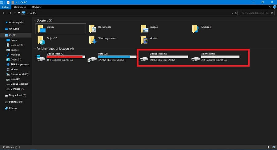 partitionner un disque dur sous Windows 10