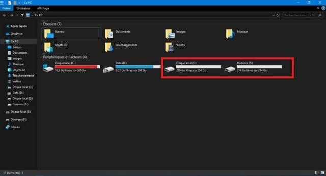 partitionner un disque dur sous Windows 10