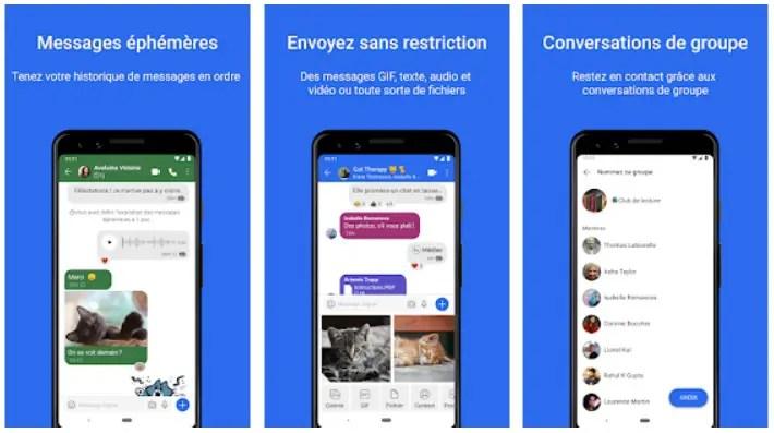 avantages de Signal Messenger