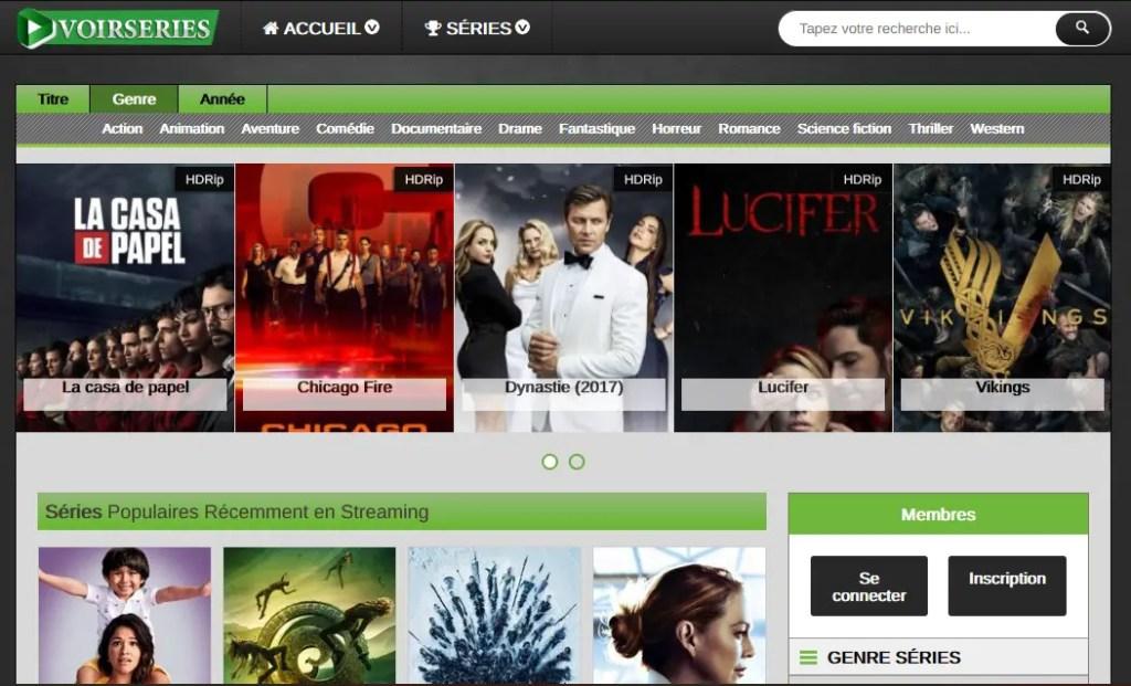 VoirSerie.one : un autre site de Streaming gratuit Illimité sans inscription de vos séries