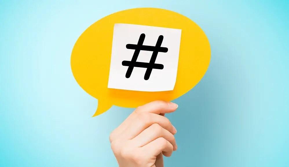 L'utilisation des Hashtags peut vous aider à augmenter le nombre d'abonnées