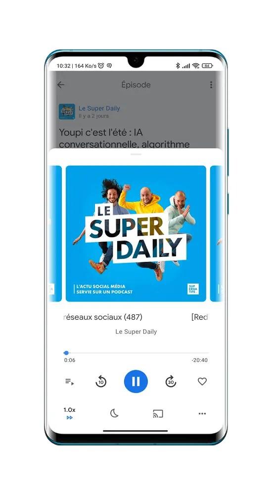Super Daily: Les Nouvelles Tech en Français sur Les Médias Sociaux