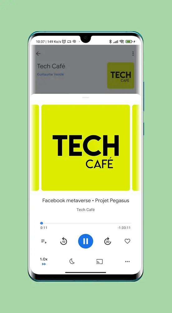 Tech Café – Un des grands de meilleurs podcasts Tech Français