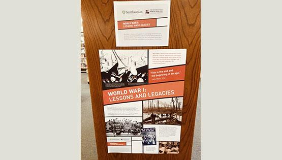 World War I Lessons & Legacies Display [CCPL]