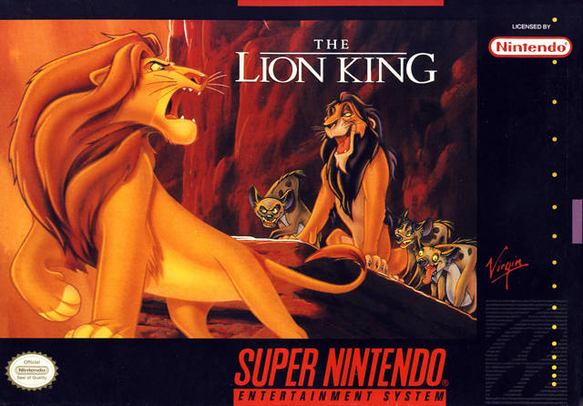 Retrô Game - The Lion King