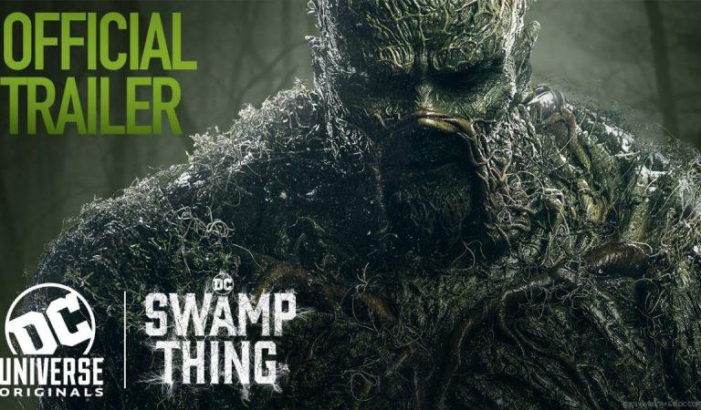 Confira o novo trailer da série do Monstro do Pântano da DC