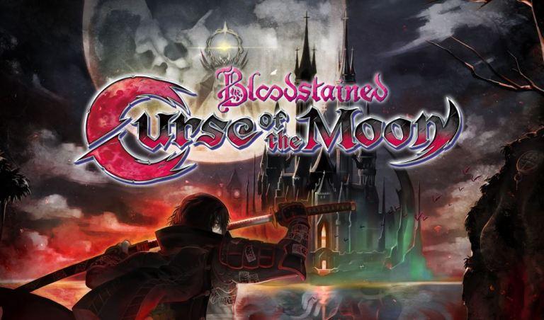 """Bloodstained: Curse of Moon, lançado em 06 de Junho de 2018 para muitas plataformas, inclusive Nintendo 3DSe Nintendo Switch, foidesenvolvido pela Inti Creats e dirigido porKoji Igarashi, o diretor da série clássica de Castlevania.Este jogo é uma prévia para o prometido e grande objetivo da campanha do Kickstarter de 2015 para """"Bloodstained: Ritual of the Night"""", que será uma continuação espiritual de Castlevania: Simphony of the Nigth."""