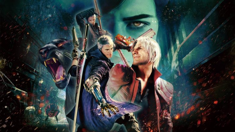 Devil May Cry 5 sem Ray Tracing no Xbox Series S