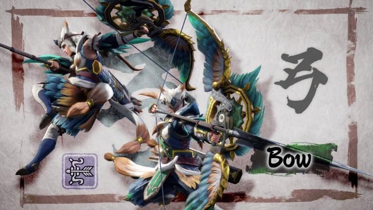 Monster Hunter Rise lance e Long Sword