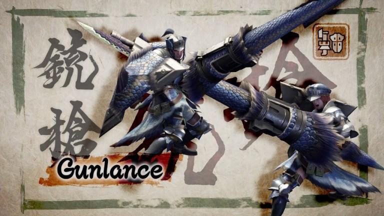Monster Hunter Gunlance e Insect Glaive