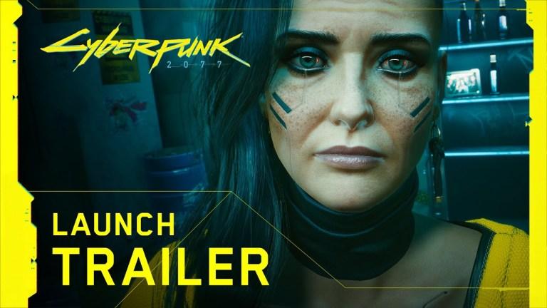 Trailer de lançamento de Cyberpunk 2077