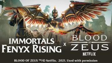 O Sangue de Zeus em Immortals Fenyx Rising