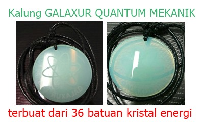 kalung quantum pendant galaxur