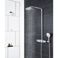 GROHE RAINSHOWER SMART CONTROL 360 THERMOSTATIC TAP SHOWER ...