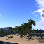 Galaxy Beach in Sovereign Sim