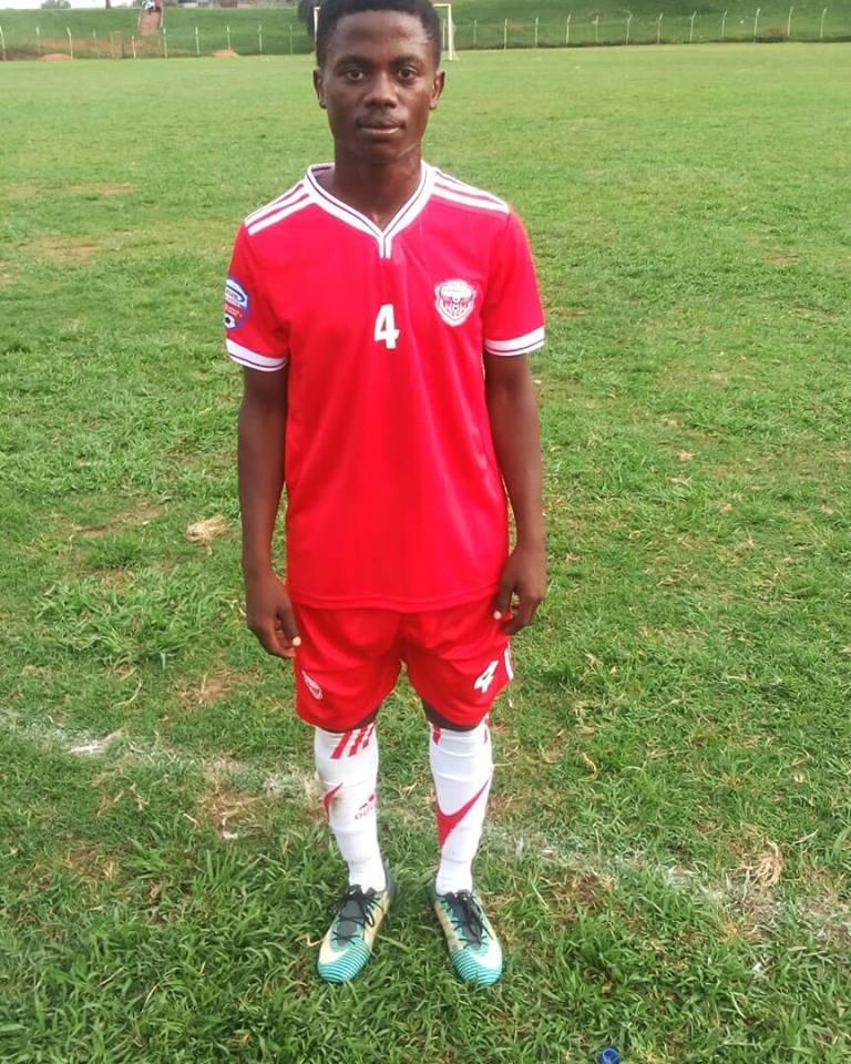 Billy Nkata made his senior debut for Express FC