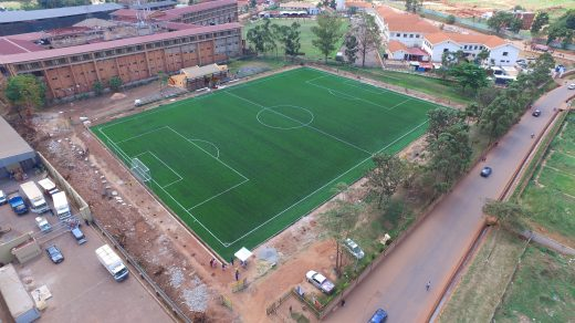 KCCA FC home ground, Startimes Stadium was rejected