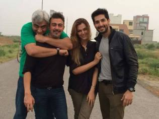 Left to Right - Hassan Waqas Rana, Shaan Shahid, Sana Bucha and Bilal Ashraf