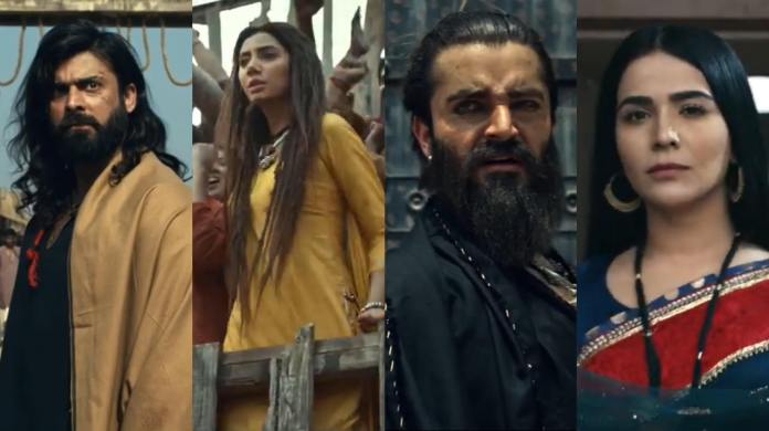 The legend of Maula Jatt teaser